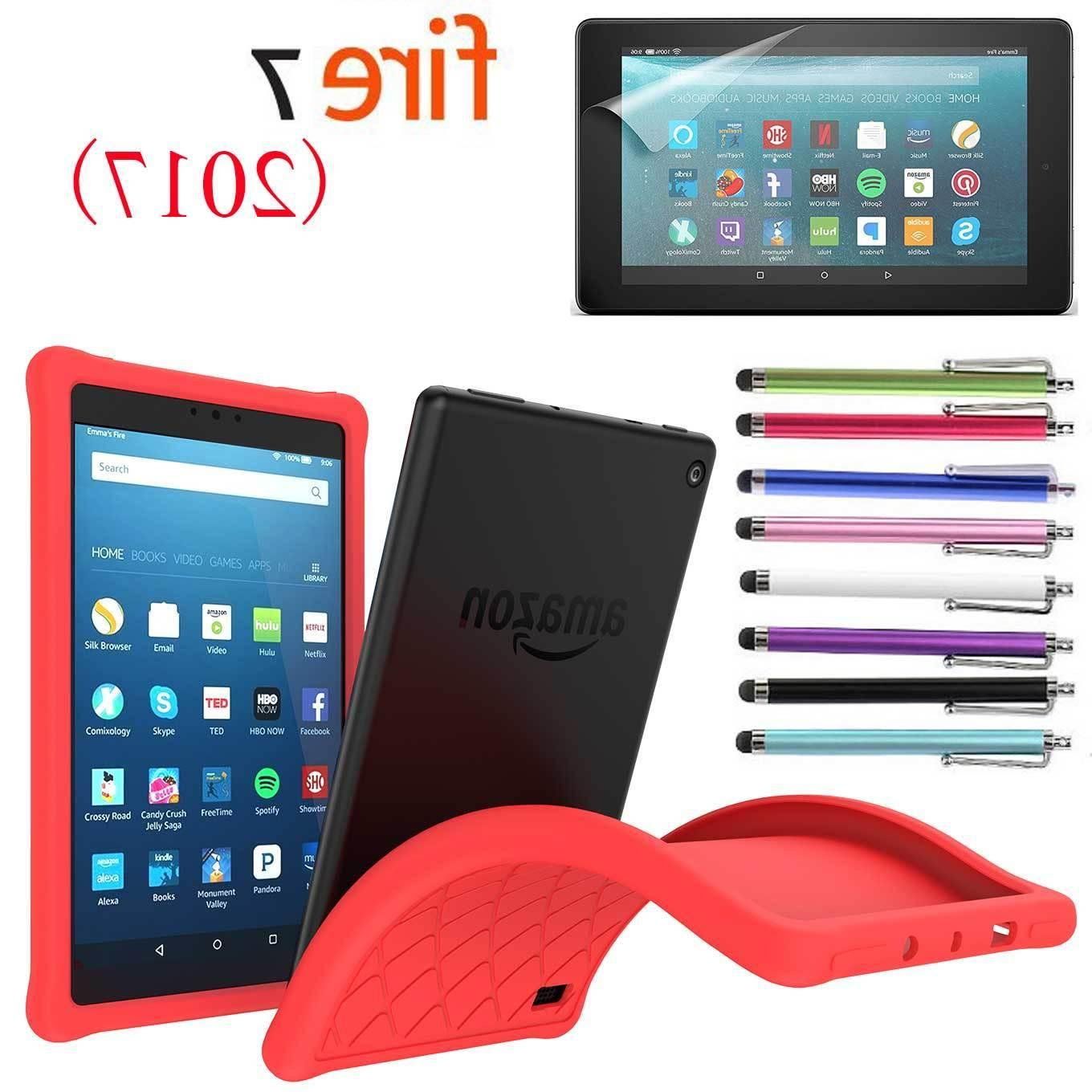 Kids Safe ShockProof Silicone Gel for Amazon 2017