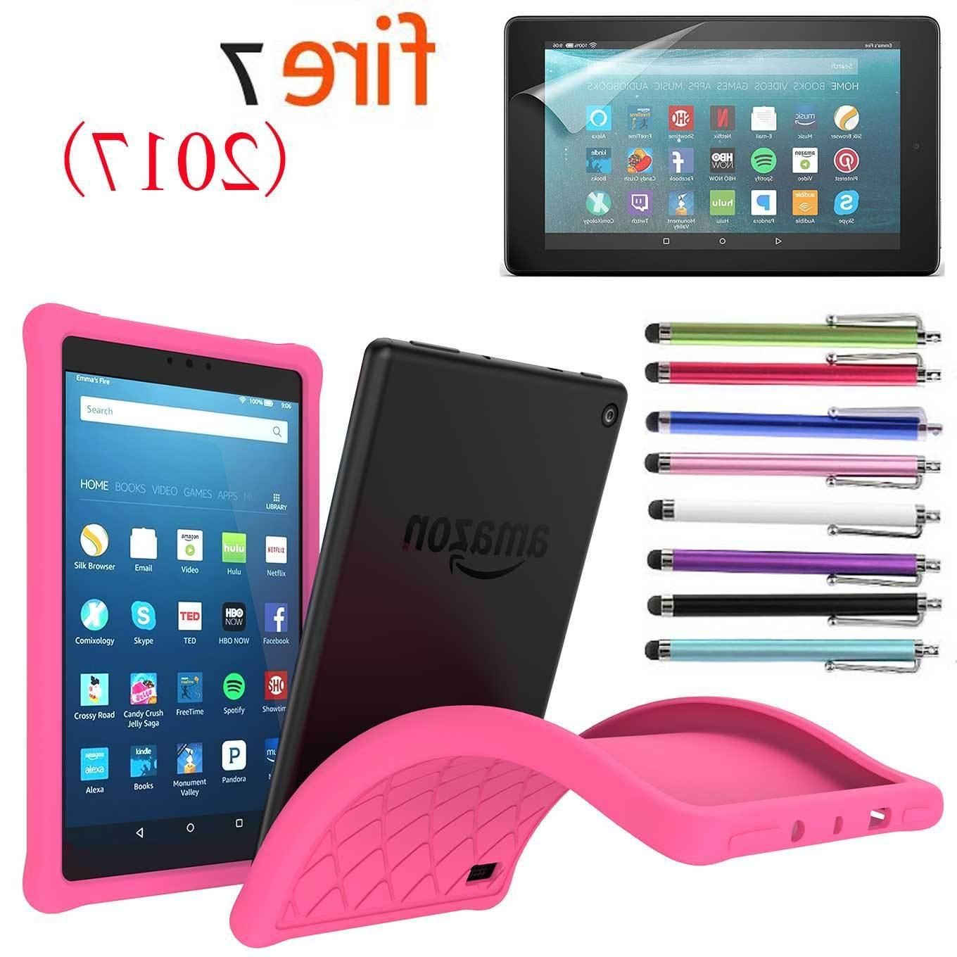 Kids Silicone Gel Amazon Fire 2017