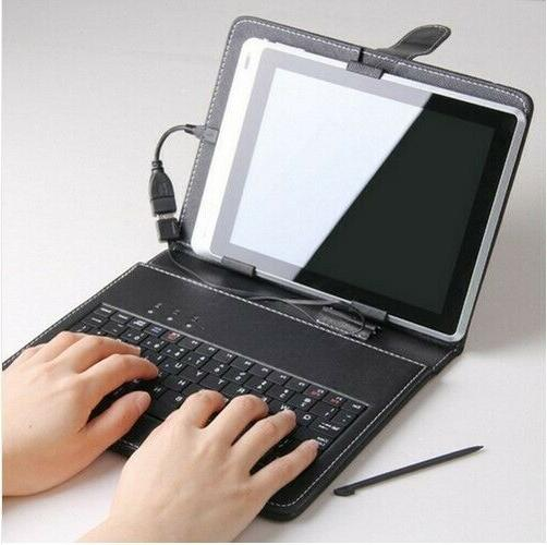 LEATHERCASE FOR 7- 8 INCH KEYBOARD