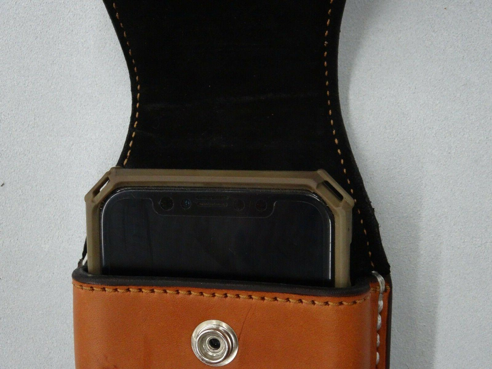 Leather Holster Sheath Vertical Iphone 6,7,8,10,X,