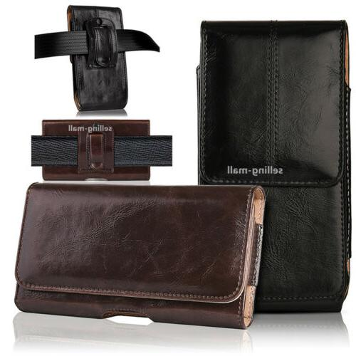 leather rugged cell phone case pouch holster