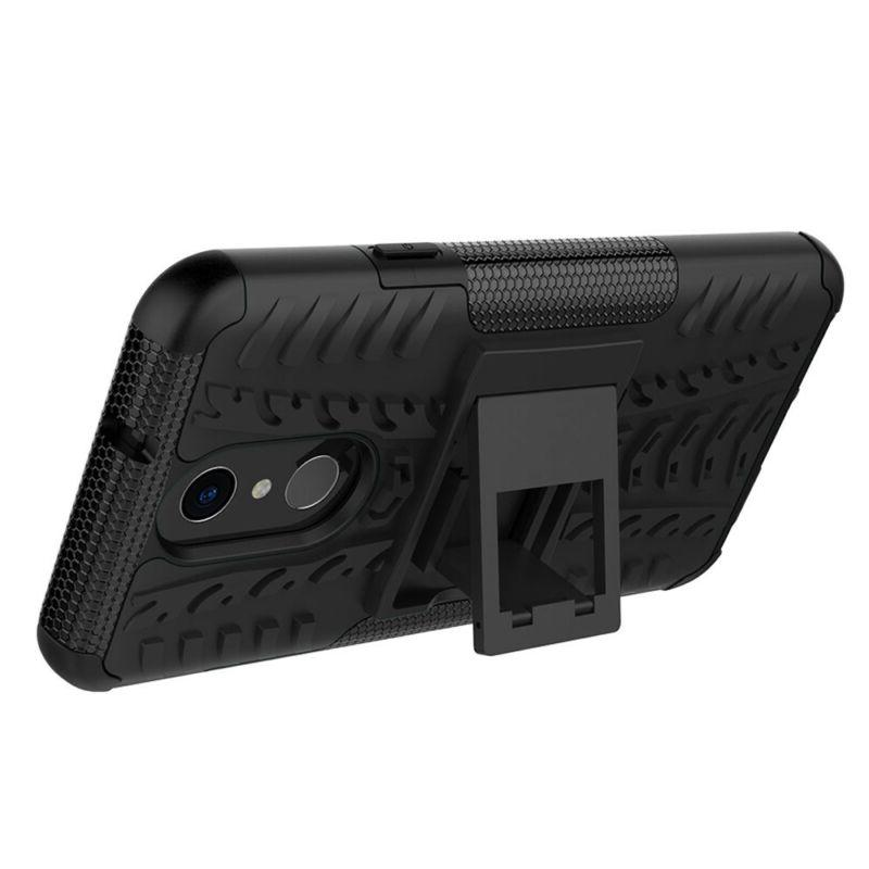 For Case Rugged Cover+Tempered