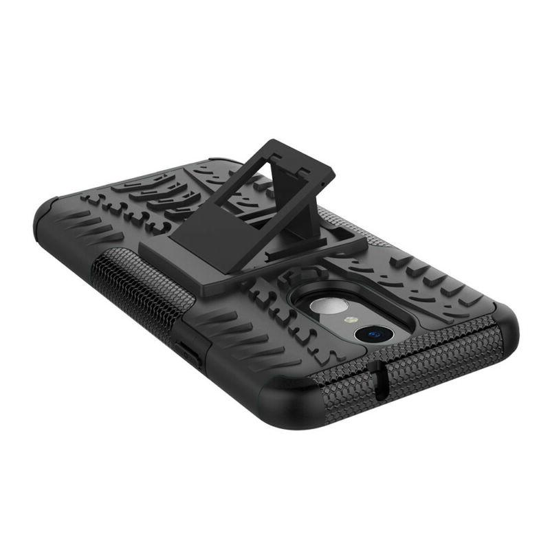 For LG Case Armor Rugged Glass