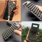 Luxury Bling black Diamond Crystal PC Case Cover For Samsung