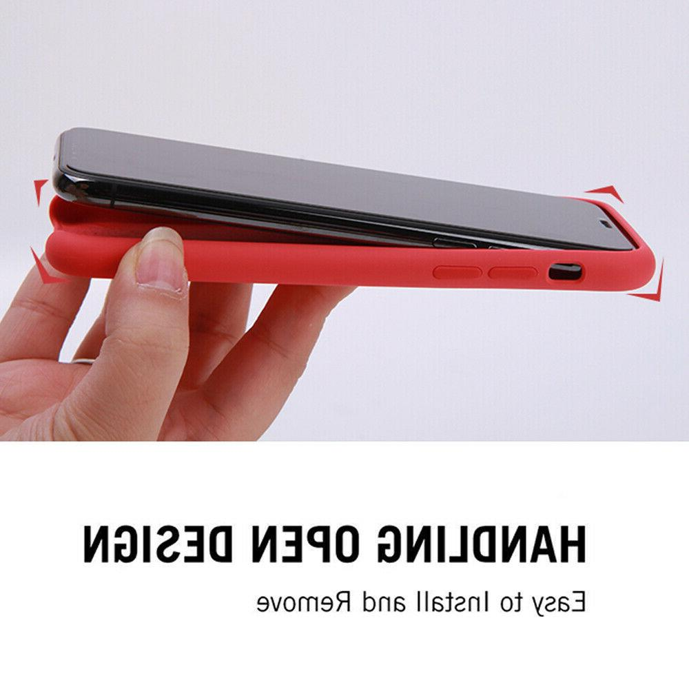 Luxury Silicone Case For XR X Genuine