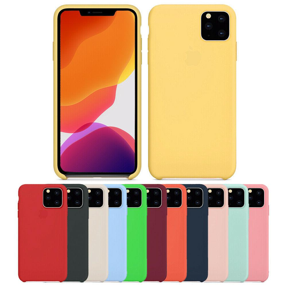 luxury silicone case for iphone 11 pro