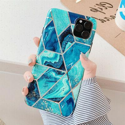 Marble For 11 Pro Max XS 7 ShockProof Silicone