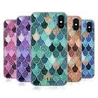 HEAD CASE DESIGNS MERMAID SCALES PATTERNS SOFT GEL CASE FOR