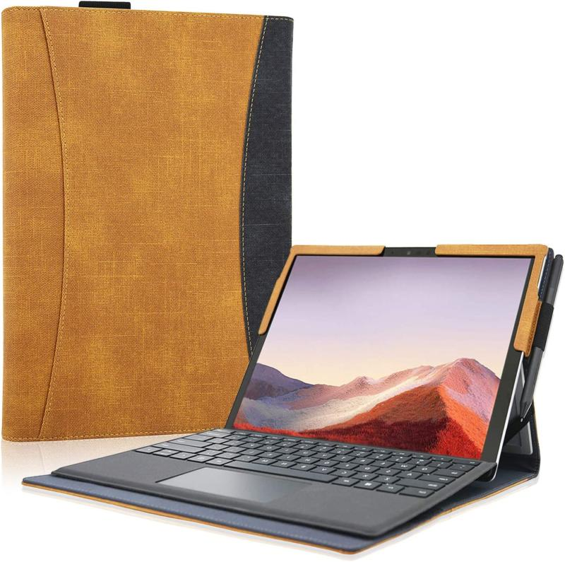 Acdream Microsoft Surface Pro 7 Case, Multiple Angle Viewing