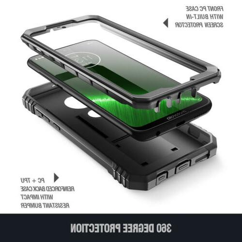 Poetic Shockproof Cover with Screen Black