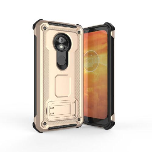 For Power G7 Case Stand Armor Cover + 2Pcs Film