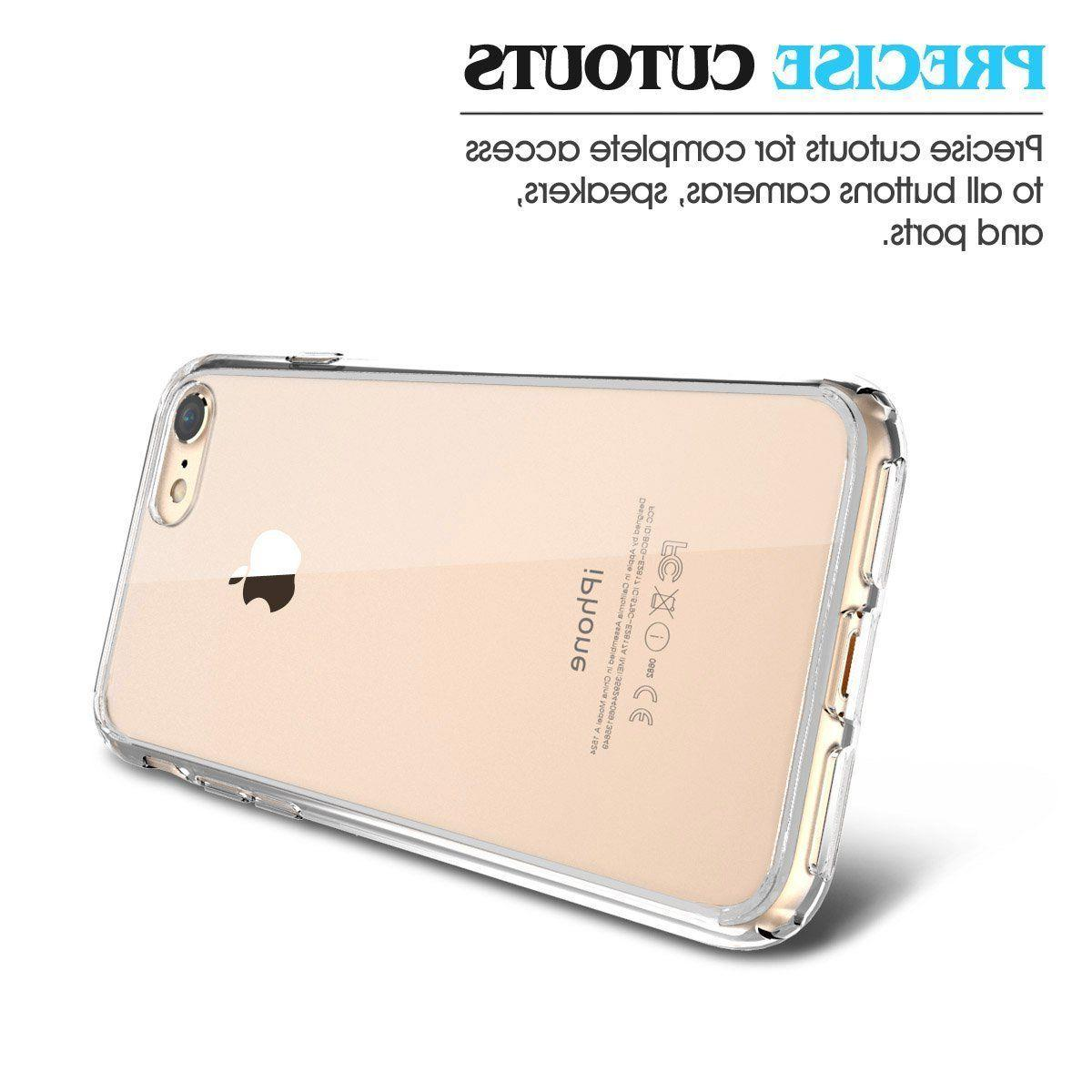 New For 8 Hard Clear Case Bumper Shockproof