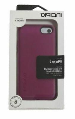 New in Box OEM Incipio Octane Plum Case For iPhone 8/iPhone