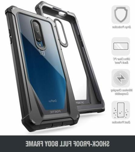 OnePlus 7 Pro Rugged Clear Hybrid Shockproof Bumper