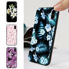 HK- Pretty Flower Design Phone Case Plastic Cover for iPhone