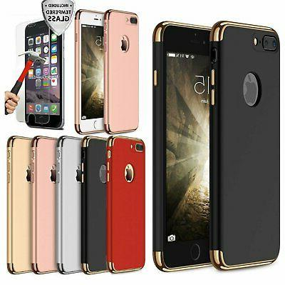 protective hard thin case cover tempered glass