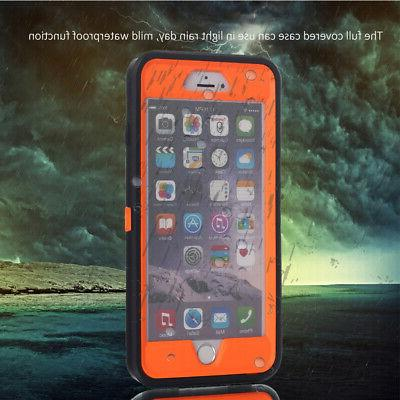 For iPhone 6 Plus 6S Hybrid Full Duty Waterproof Cover