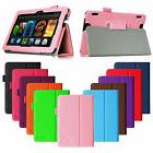 Fintie PU Leather Folio Case Cover Stand For Kindle Fire HDX
