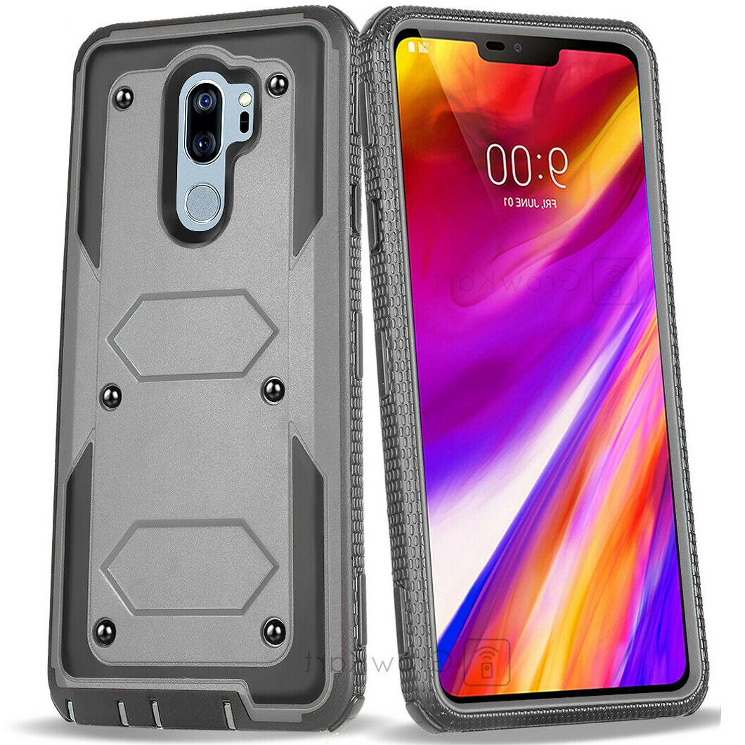 REFINED ARMOR RUGGED Tank Phone Case +BUILT-IN SCREEN