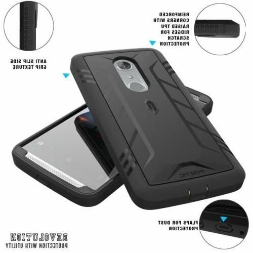 "Poetic Revolution ""360 Protection"" Case For ZTE AXON 7 3"