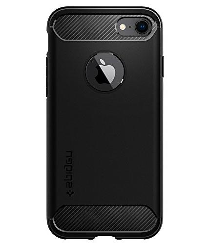 Spigen Rugged iPhone 8 7 with Shock Absorption Fiber Design iPhone 8 / iPhone 7