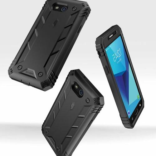 For Samsung 2017 Case Poetic Shockproof Cover with