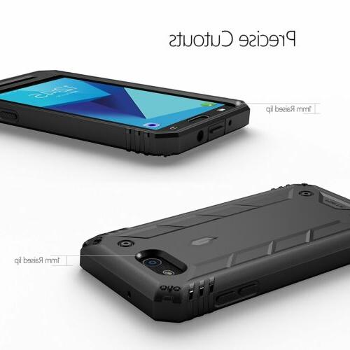 For Galaxy 2017 Case Poetic Cover Screen Protector