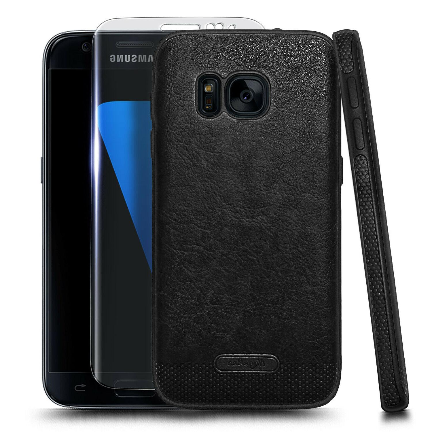 For Samsung Galaxy Case Shockproof Phone Cover + Screen Protector