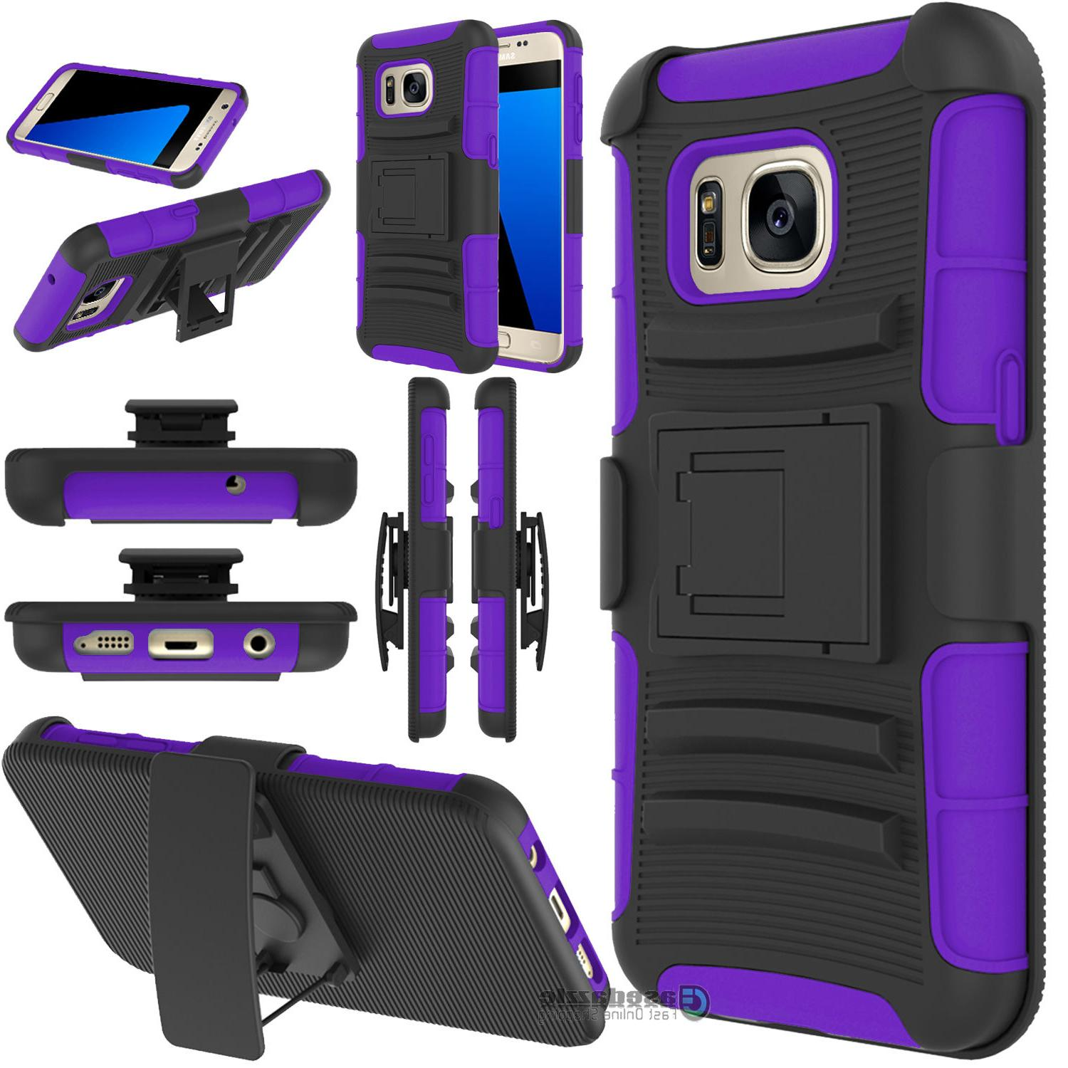 Samsung Galaxy Combo Belt Cell Phone Stand Cover