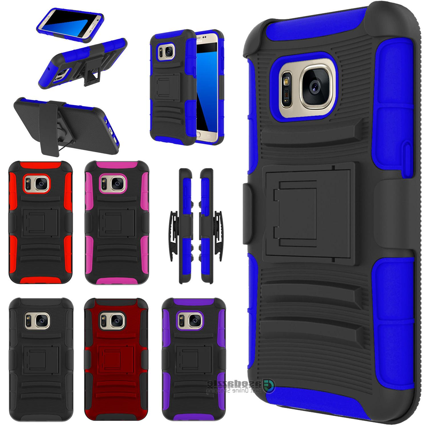 Samsung Galaxy Combo Belt Phone Case With Stand