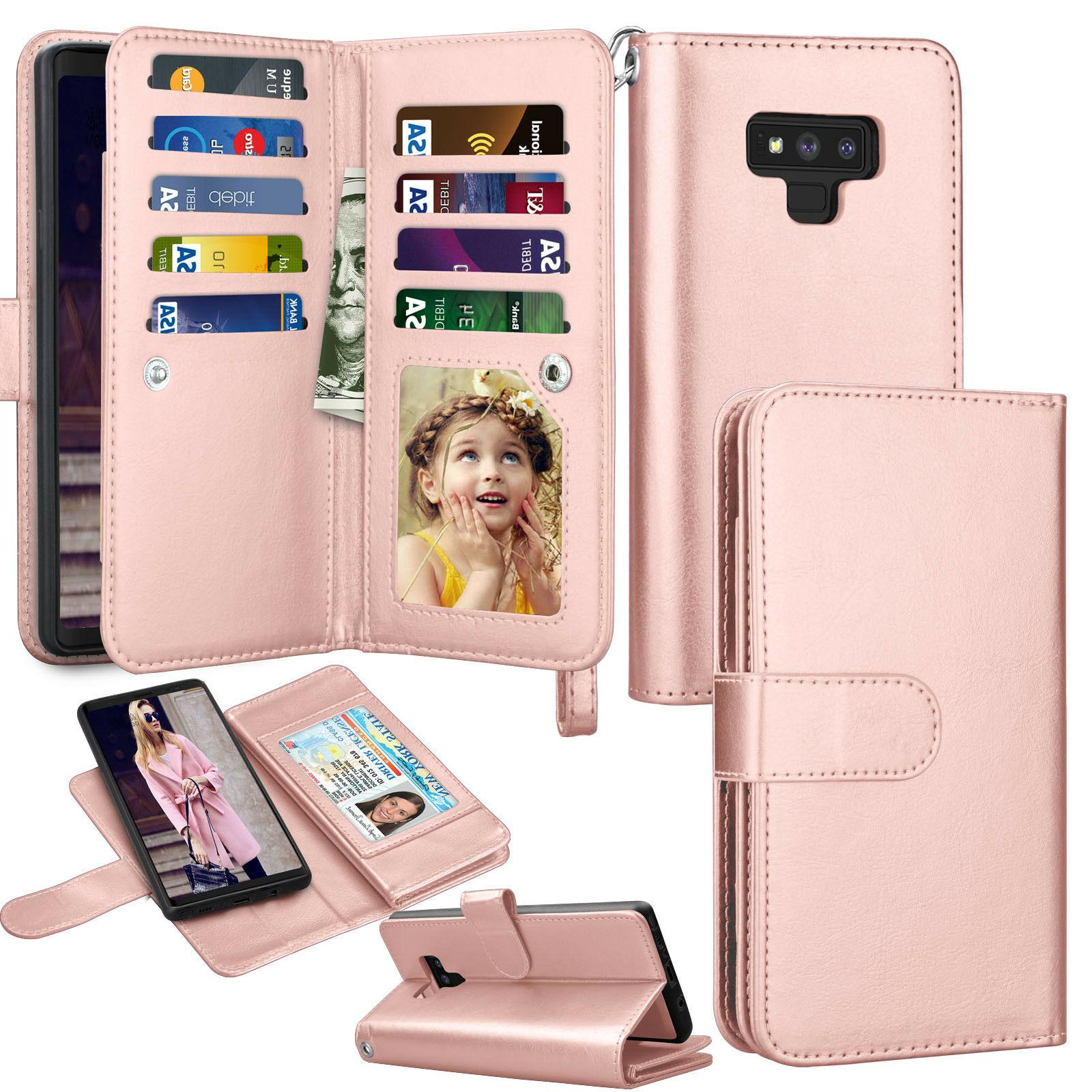 For Samsung Plus Plus Leather Wallet Case Cover