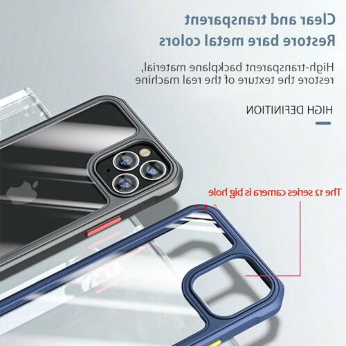 Shockproof Case 12 11 Pro Max XR X XS 8 Clear