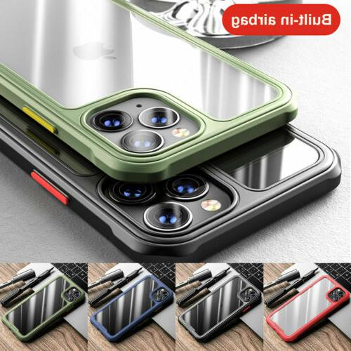 Shockproof Case for 12 11 XR XS 8 PLUS SE Clear Cover