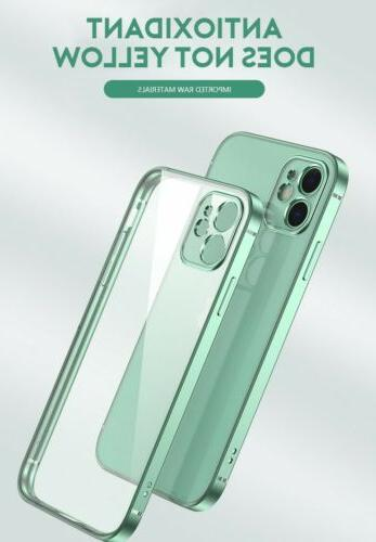 SHOCKPROOF Plating Case For iPhone Pro MAX Mini XS Cover