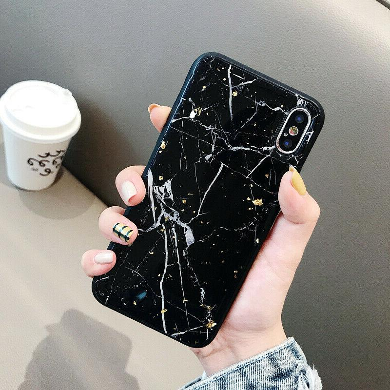 Slim Protective Marble Phone Cover For iPhone Plus Xs Max XR