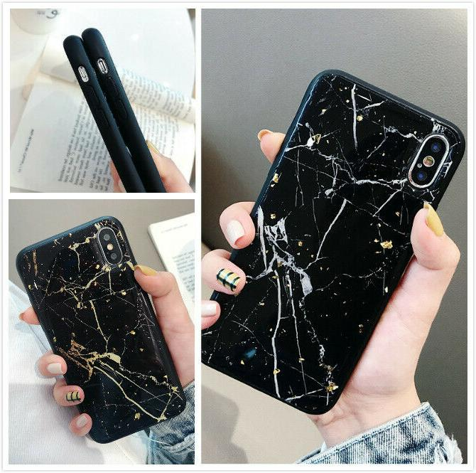 slim fit protective case marble phone cover