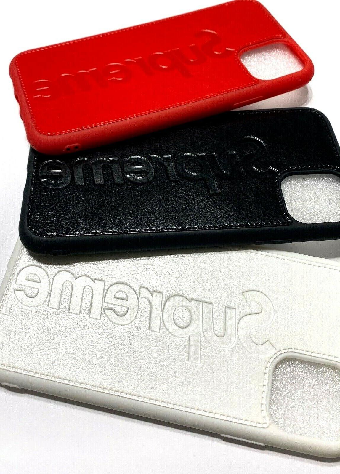 Soft TPU for iPhone SUP Off-White