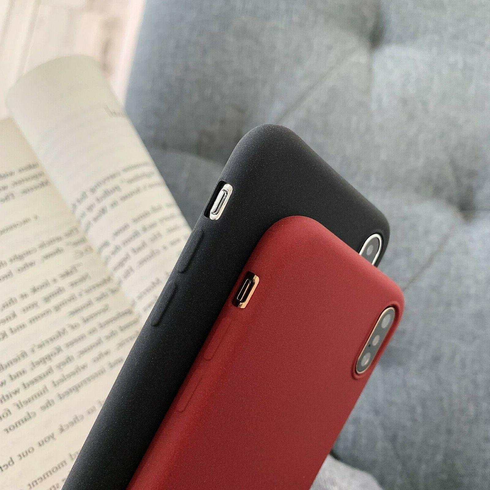 Ultra Matte Back For iPhone XR Plus