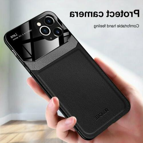 Slim Leather Case Cover For iPhone 12 Max 11 XS Max 7