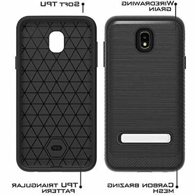 UNC Pro In 1 Cell Case W/ Kickstand Galaxy J7 2018/