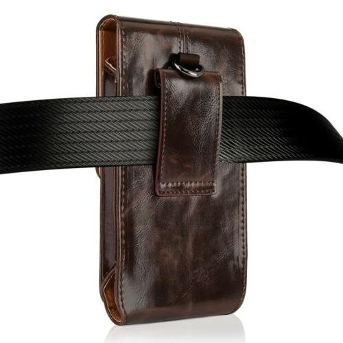 Vertical Cell Case Pouch iPhone X/ LG G4/G5/G6