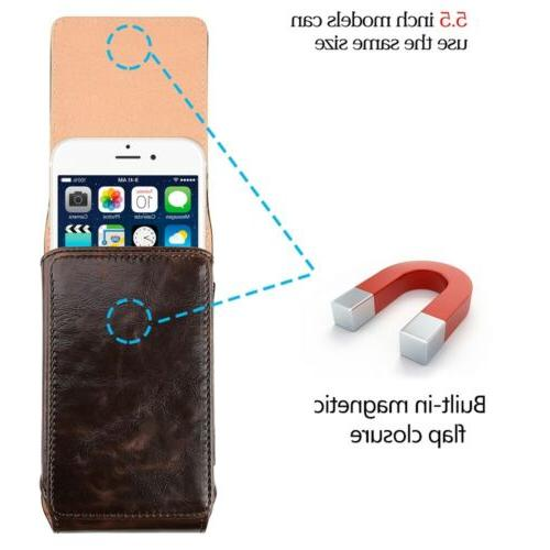 Vertical Cell Phone Case Pouch For X/ 7Plus/ LG