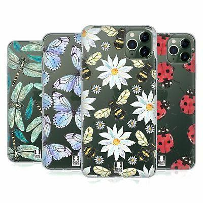 watercolour insects soft gel case for apple