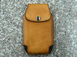 Leather Cell Phone Case Holster Sheath Vertical Iphone 6,7,8