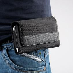 Luxmo Leather Universal Cell Phone Case Pouch Holster Horizo