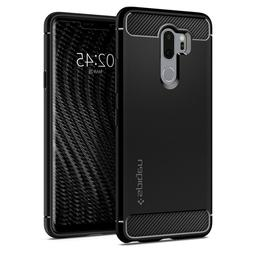 LG G7 ThinQ Case | Spigen®  Black Protective Slim Light Cov