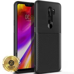 OBLIQ® LG G7 ThinQ  Black TPU Shockproof Drop Protective Ca