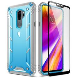For LG G7 ThinQ Poetic【Revolution】Full-Body Rugged Clear