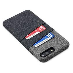 Dockem Luxe Wallet Case for iPhone 8 Plus and 7 Plus - Slim,