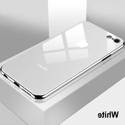 Luxury Tempered Glass Phone <font><b>Case</b></font> For <fo